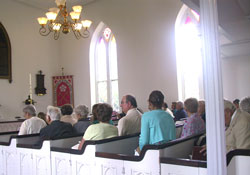 Attendance 175th anniversary St. Peter's May 15, 2011