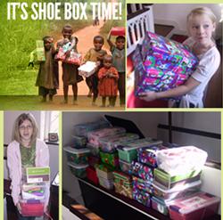 Samaritan's purpse Operation Christmas Child collection