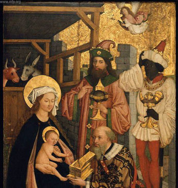 Adoration of the Magi by Zietblom