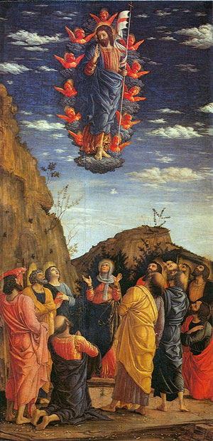 Ascension Mantegna