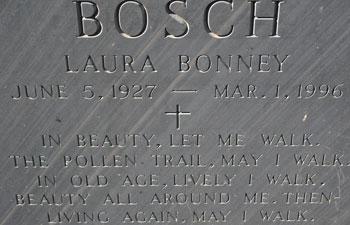Bosch Grave