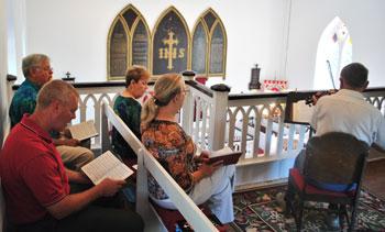 Choir 2012-07-29
