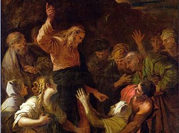 Christ Healing the Leper