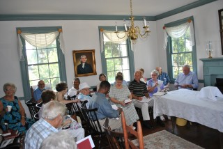 Congregation in Parish House July 1, 2012