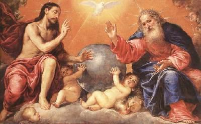 Holy Trinity - Antonio de Pereda