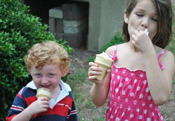 Kids - Ice Cream Social July 15, 2012