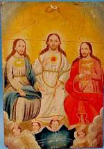 Trinity as 3 men