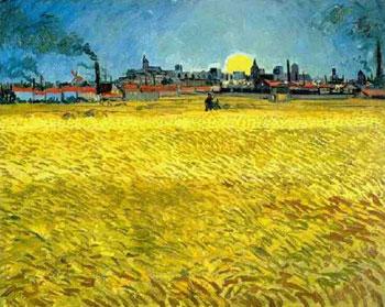 Wheat Fields Near Arles
