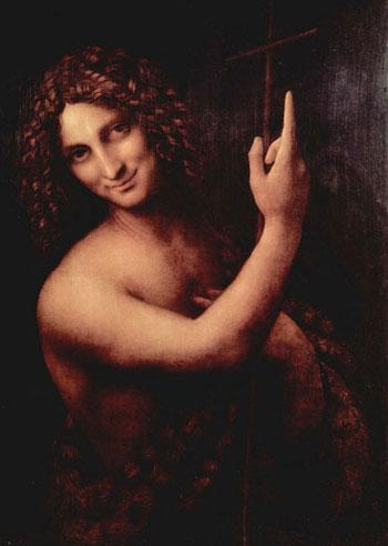 John the Baptist DaVinci